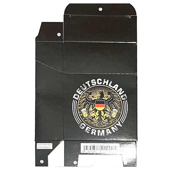Zigaretten-Faltschachtel Germany Adler schwarz Motiv 25er