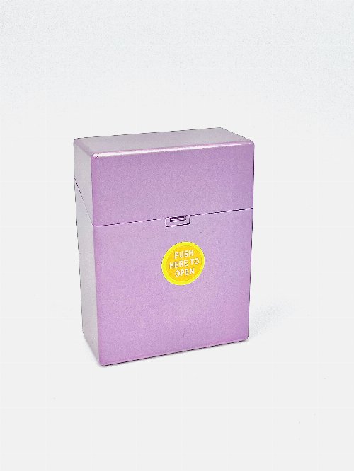 Zigarettenbox Kunststoff 30er Clic Boxx Lila