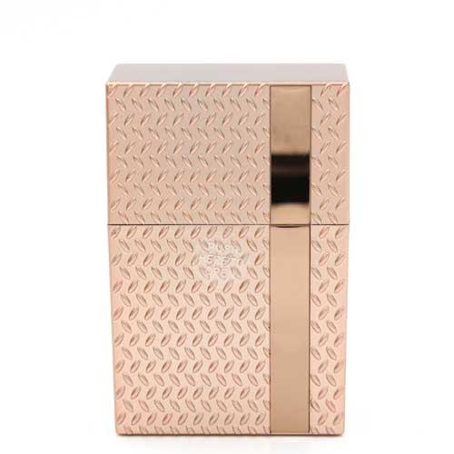 Zigarettenbox Kunststoff Champ Diamond Rosé