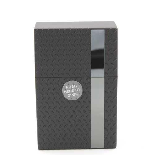 Zigarettenbox Kunststoff Champ Diamond Schwarz