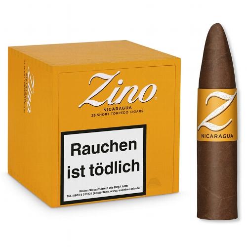 ZINO Nicaragua Short Torpedo Zigarren 25 Stück