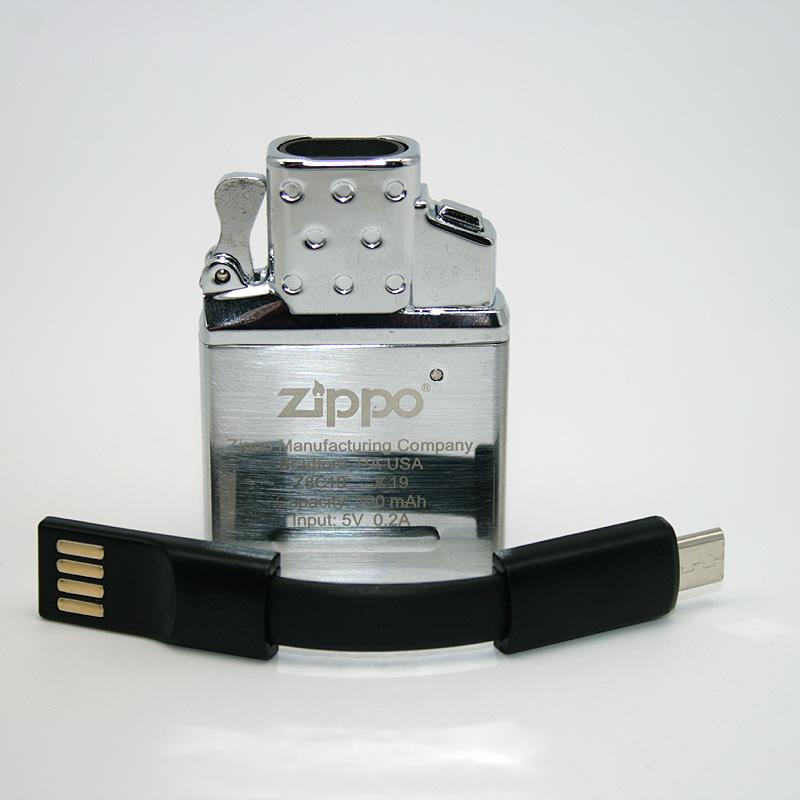 Zippo Arc-X Einsatz mit USB-Anschluss