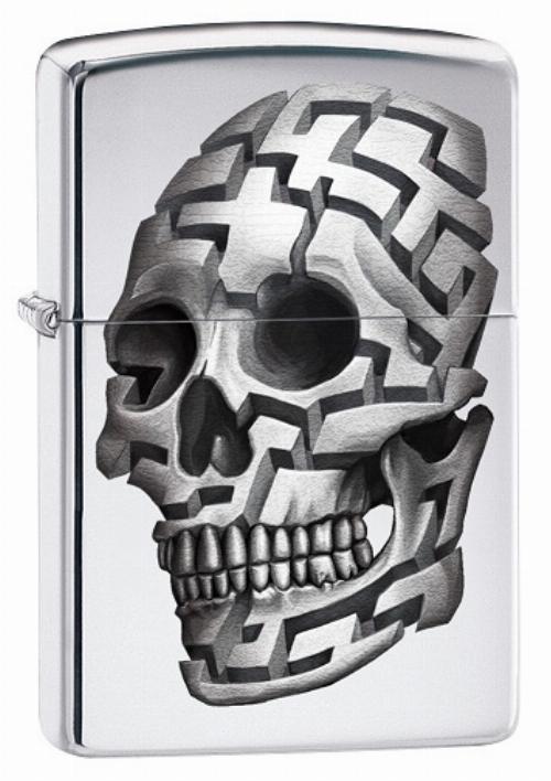 Zippo Feuerzeug 3D Skull No.7