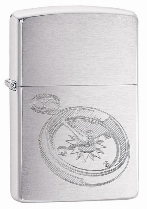 Zippo Feuerzeug Compass Design