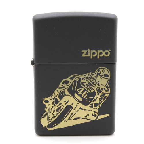 Zippo Feuerzeug Motorradfahrer