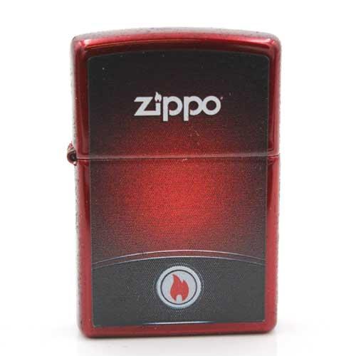 Zippo Feuerzeug Red & Black Zippo Design