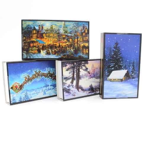 Zündhölzer Weihnachten 45 Stück