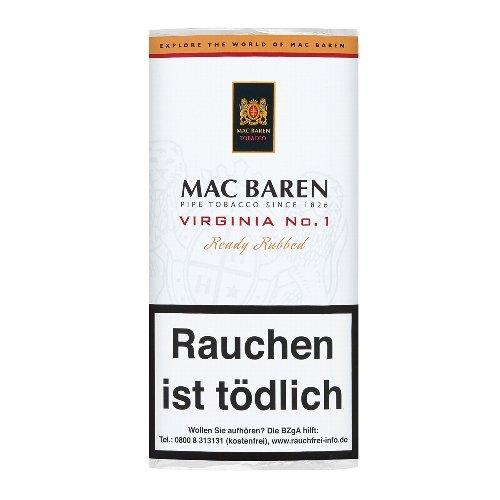 Mac Baren Pfeifentabak Virginia No 1 50g Päckchen