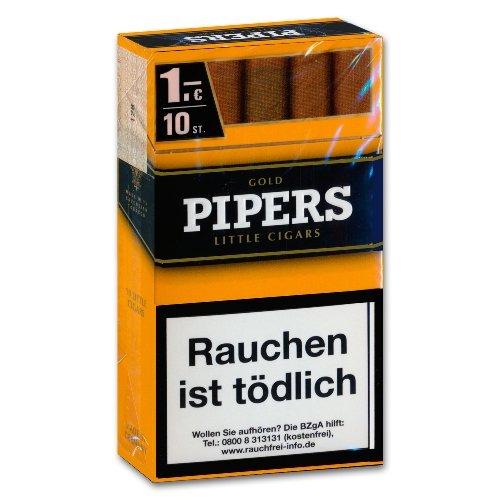 Pipers Little Cigars Gold Vanilla Zigarren