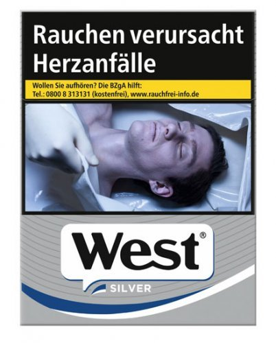 Einzelpackung West Silver XL (1x22)