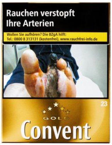 Convent Gold American Blend XL Zigaretten (1x23)