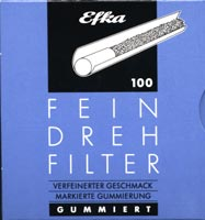 Efka Feindrehfilter 100 Stück
