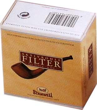 Pfeifenfilter Stanwell Aktivkohlefilter 100St.