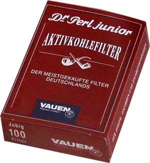 Pfeifenfilter Dr Perl junior Aktivkohlefilter 100St.