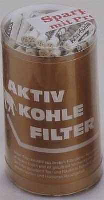 Pfeifenfilter White Elephant Aktivkohlefilter 150St.