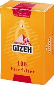Gizeh Fein 8 mm Zigarettenfilter 100 St.
