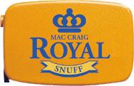 Royal Mac Craig Snuff 7g