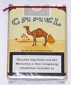Camel ohne Filter Zigaretten 20er