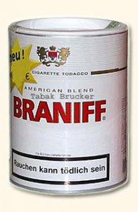 Braniff White Tabak 110g Dose