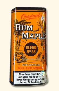 Rum and Maple 50g