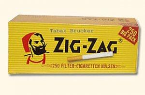 Zig-Zag Zigarettenhülsen