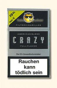 Crazy Full Flavor Filterzigarillos mit Naturdeckblatt