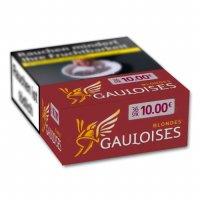Gauloises Zigaretten Blondes Rot XXXL 10 Euro 34er Packung