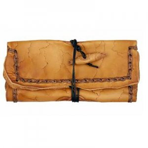 Original MR Drehertasche Leder braun Cross