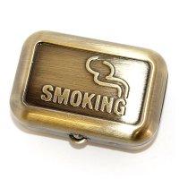 Taschenaschenbecher Smoking Gold