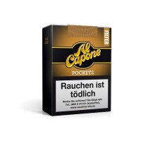 Al Capone Pockets Gold Blend Cigarillos 18 Stück mit Filter