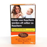 Alisha Kiwi (A Little Love) 50g Packung Shisha Tabak