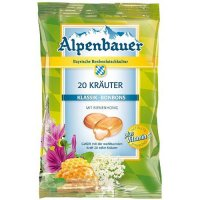 Alpenbauer 20-Kräuter-Bonbon 100g Beutel