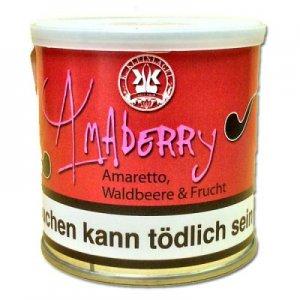 Amaberry Pfeifentabak K. Kleinlagel mit Geschmack 50g Dose