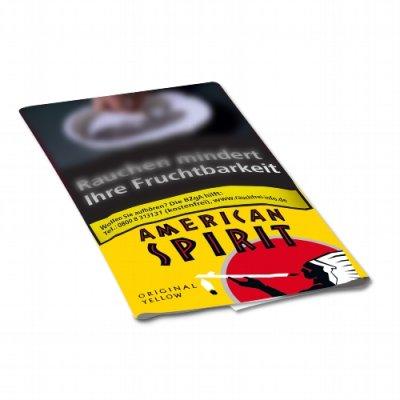 American Spirit Tabak Original Yellow 30g Päckchen Feinschnitt