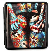 Angelo Girl Zigaretten Etui 20er - Motiv 05 - Crash Boom