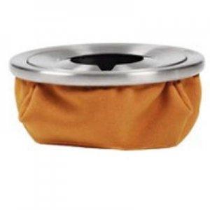 Aschenbecher Atomic Sandbag Gelb-Ocker