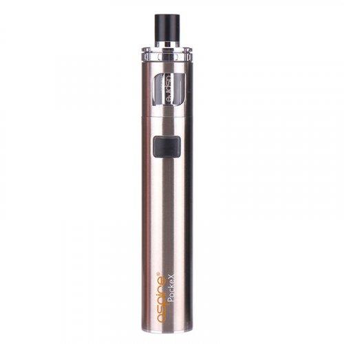 Aspire PockeX E-Zigarette Starterset Silber