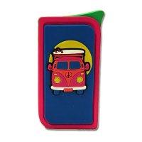 Atomic Neon Bully VW-Bus Blau-Pink Feuerzeug