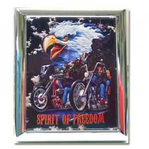 Atomic Zigarettenetui American Eagle Spirit of Freedom