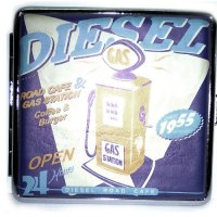 Atomic Zigarettenetui Classic Cars Diesel