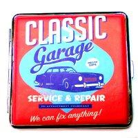 Atomic Zigarettenetui Classic Cars Garage