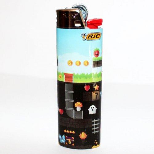 BIC Feuerzeug Steinzündung Gaming 7/8