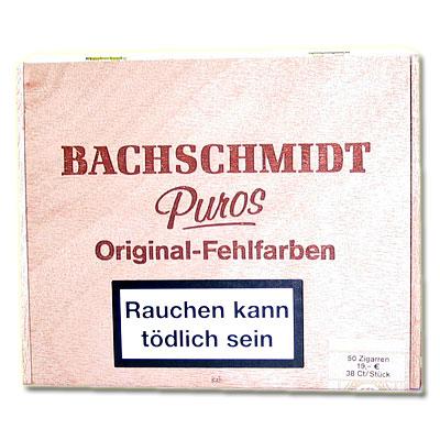 Bachschmidt Puros No 498 Sumatra Fehlfarben