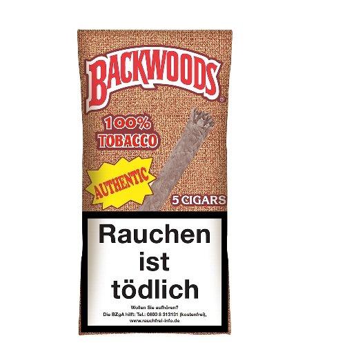 Backwoods Authentic Cigarren  (ehem. Aromatic) 100 % Tobacco