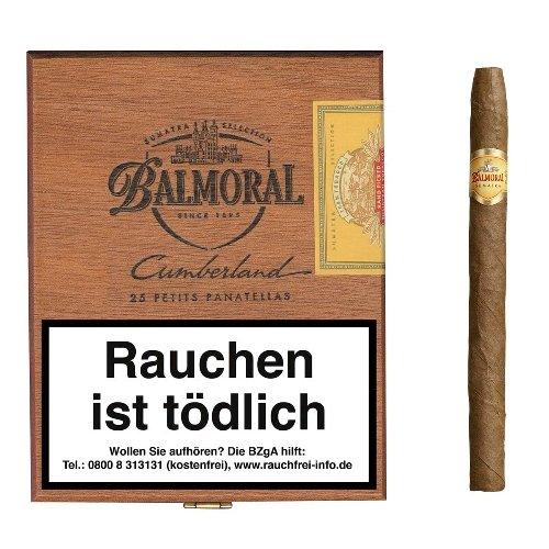Balmoral Cumberland Petit Panatellas Sumatra Cigarren 20er