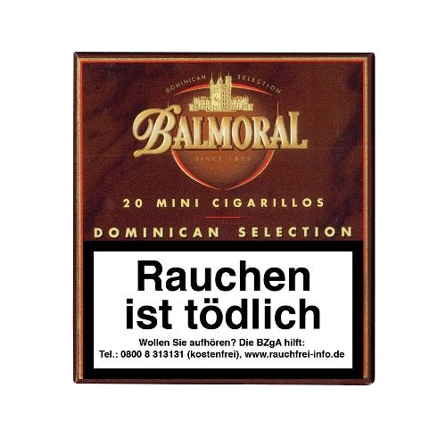 Balmoral Dominican Selection Mini Zigarillos