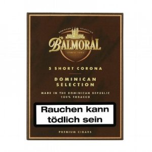 Balmoral Dominican Selection Short Corona 5er