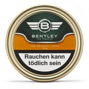 Bentley Pfeifentabak The Oriental Spice 50g Dose