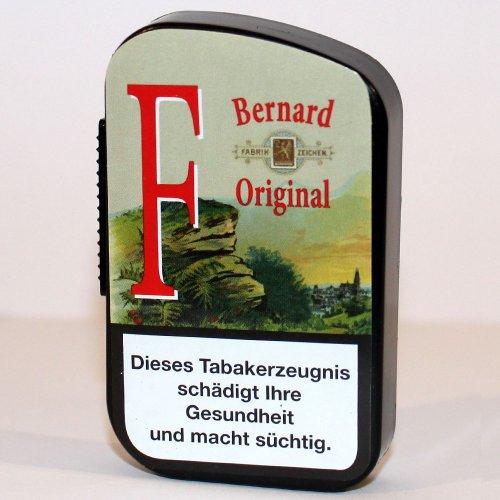 Bernard Schnupftabak Original F (Fichtennadel-Tabak) in 10 g Dose