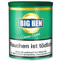 Big Ben Classic Green Menthol 100g Dose Pfeifentabak